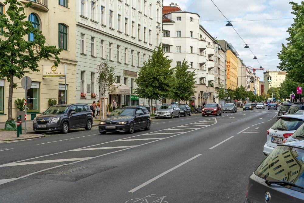 Landstraßer Hauptstraße Richtung St. Marx