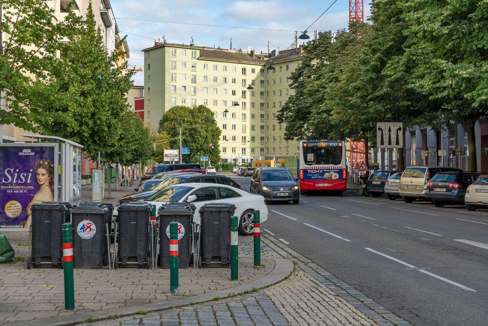 Landstraßer Hauptstraße nahe Schlachthausgasse, Wien