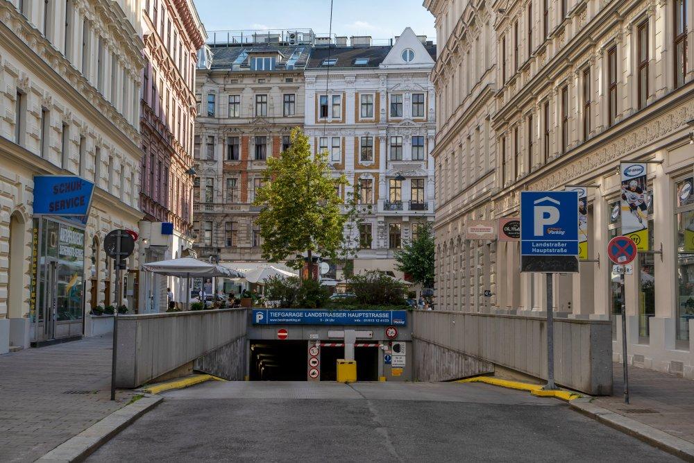 Seidlgasse, Landstraßer Hauptstraße, Gründerzeithäuser, Garage, Wien
