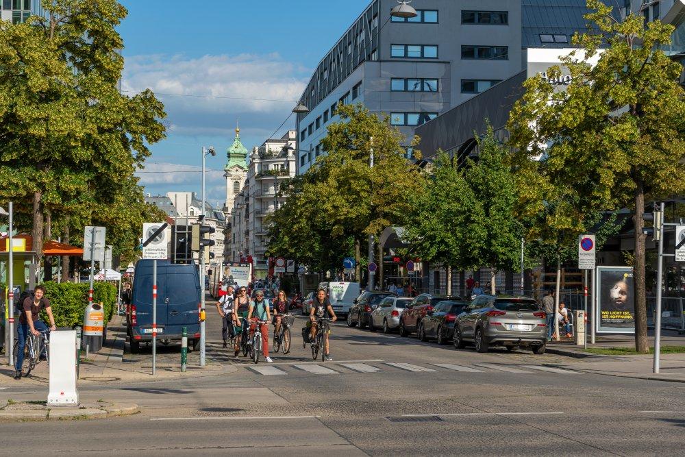 Vordere Zollamtsstraße, Landstraßer Hauptstraße, Wien Mitte