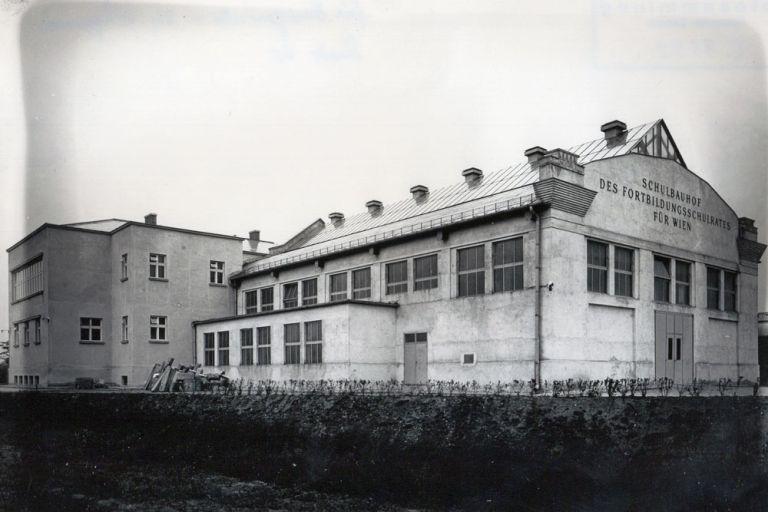 Wien-Donaustadt, 1931, Berufsschule