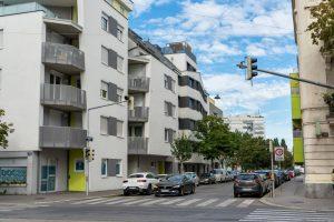 Neubau-Wohnhäuser in Wien-Donaustadt