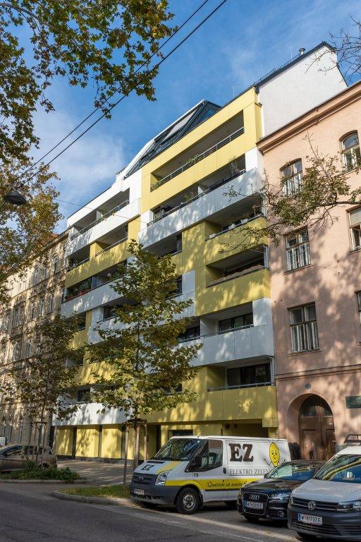 Neubau nach Abriss eines Gründerzeithauses, Wien-Leopoldstadt