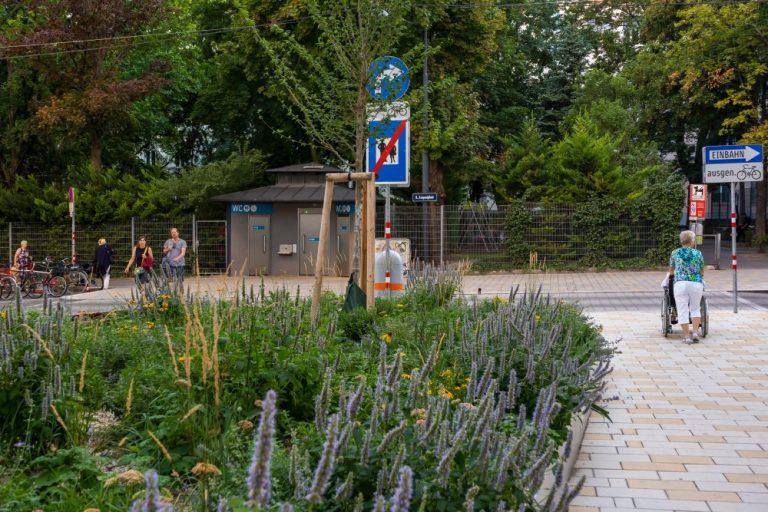 Königsegggasse und Loquaiplatz (August 2020)