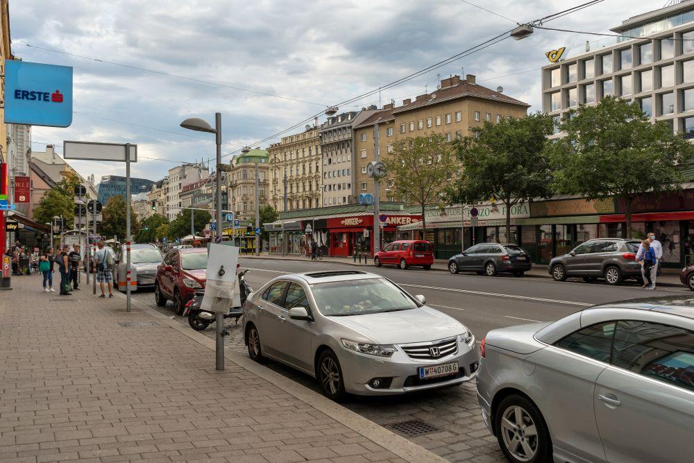 Rochusmarkt und Landstraßer Hauptstraße, Wien