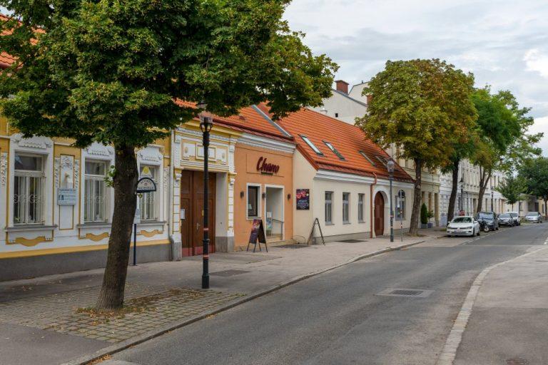 Historische Häuserzeile am Leopoldauer Platz 22-27 (Foto: 2020)