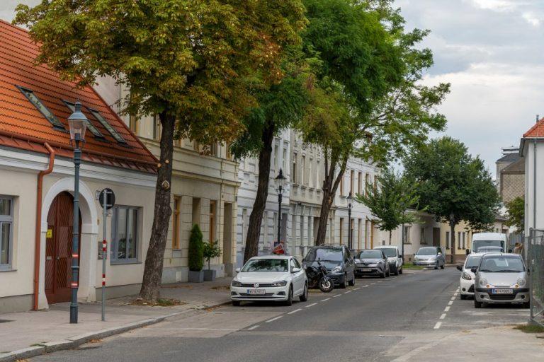 Historische Häuserzeile am Leopoldauer Platz 23-30 (Foto: 2020)