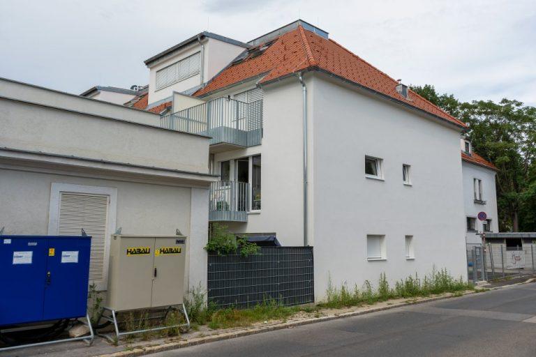 Neubau in der Schutzzone, Floridsdorf, Wien