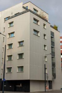 Neubau-Wohnhaus im Sonnwendviertel in Wien-Favoriten