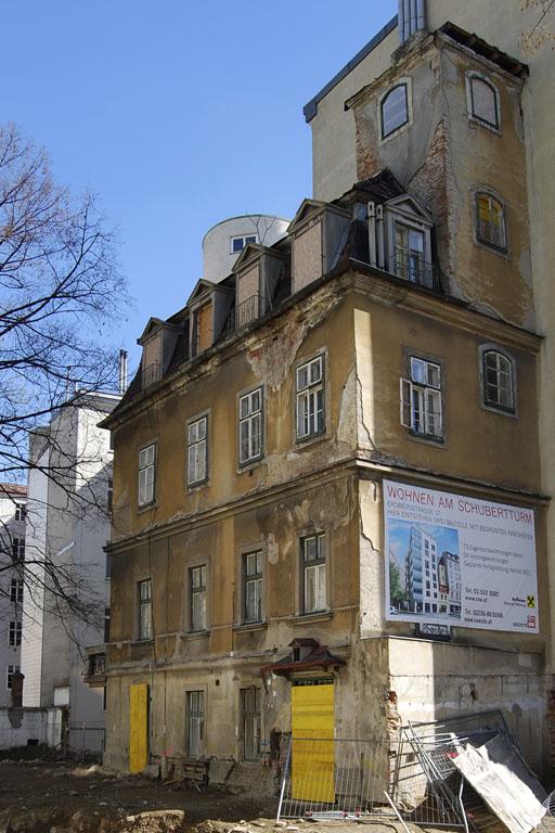 Read more about the article Schubertturm: Totalumbau trotz Denkmalschutz