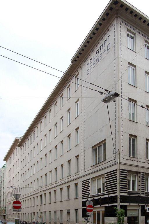 Wohnhaus entworfen von Otto Wagner in Wien-Neubau, Döblergasse