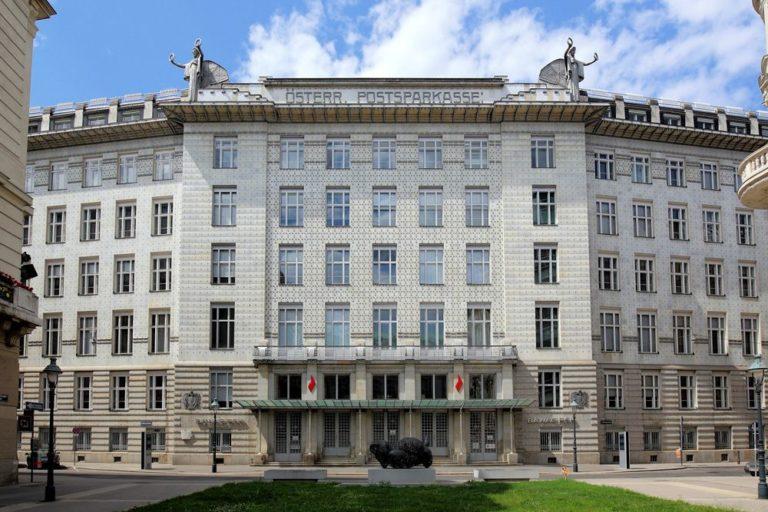 Österreichische Postsparkasse, Otto-Wagner, Jugendstil, Wien, Innere Stadt