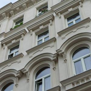 Schimmelgasse: Gründerzeit-Fassade rekonstruiert