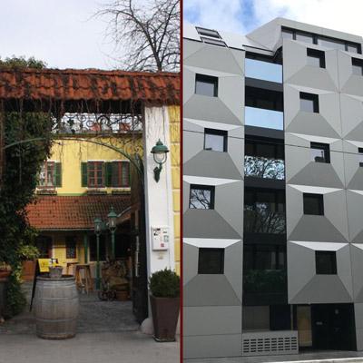 Vom Ottakringer Landhaus zum Designer-Blech