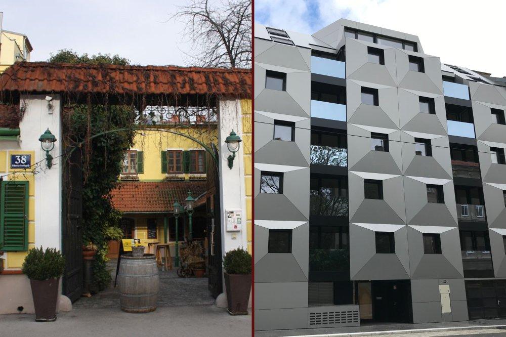 Ottakringer Landhaus vor dem Abriss, Neubau, Albrechtskreithgasse 38, 1160 Wien