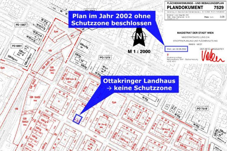 Flächenwidmungs- und Bebauungsplan, Ottakring, Hernals, Albrechtskreithgasse 38, Plandokument 7529