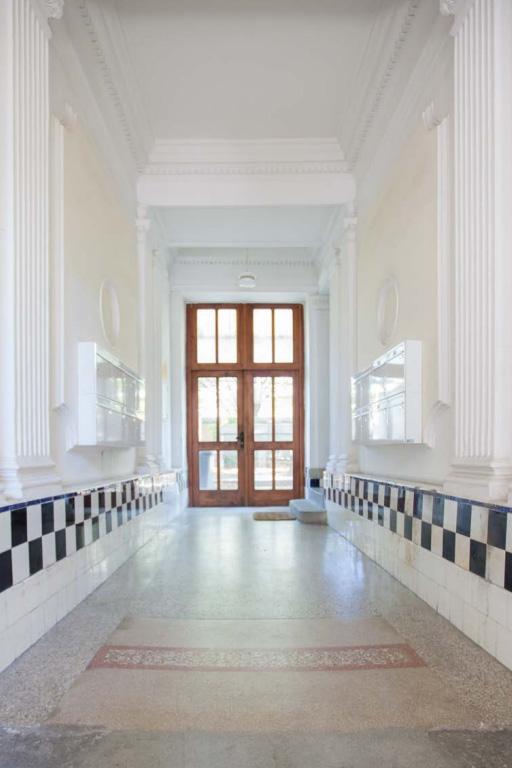 Das Innere des Gebäudes Borschkegasse 14 in Wien-Alsergrund.