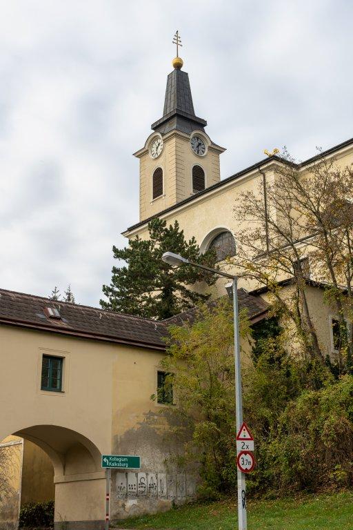 Kirche, Kalksburg, Liesing, Wien, Bogen