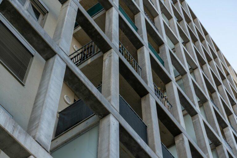 Gitter, Fassade, Sonnwendviertel, Neubau, Wohnhaus