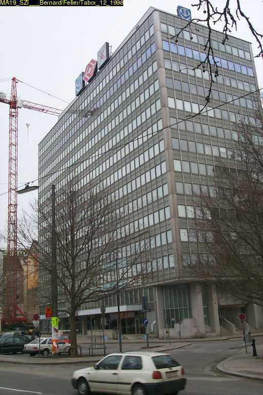 Bürohaus an der Praterstraße 1-7, Abriss ca. 2006, Taborstraße, Donaukanal, Leopoldstadt, Wien