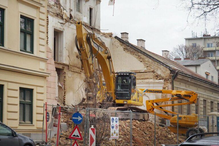 Jahrhundertwendehaus in Döbling wird abgerissen, 1190 Wien
