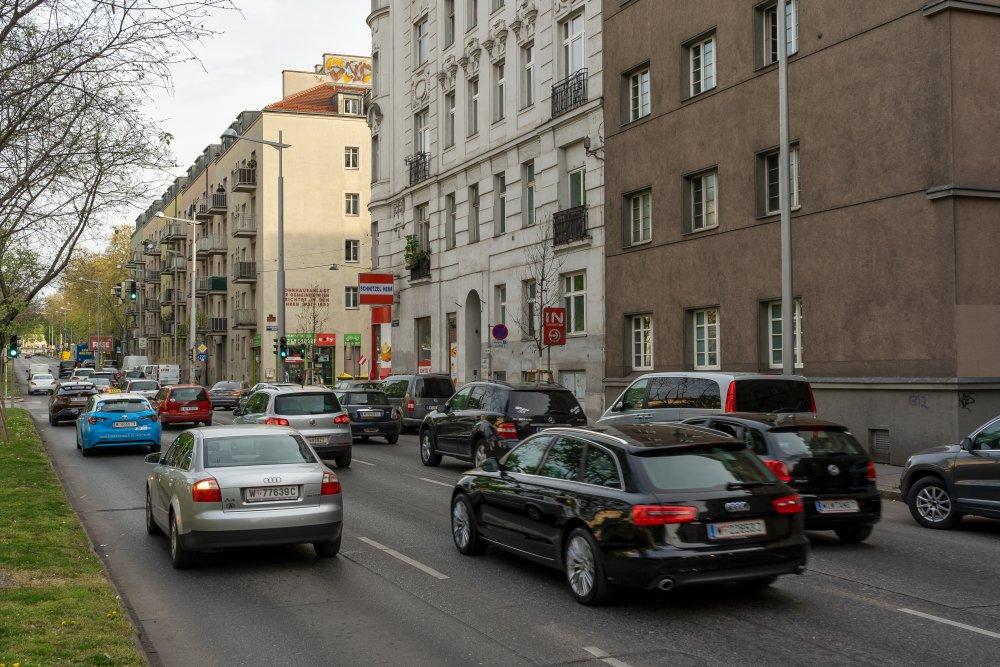 Gaudenzdorfer Gürtel in Wien-Meidling