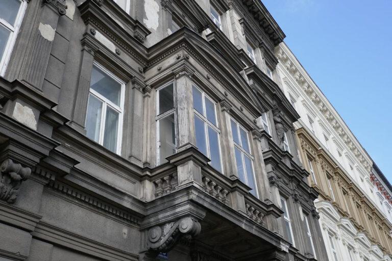 Gründerzeitfassade, Wien, Mariahilfer Gürtel 33, Historismus