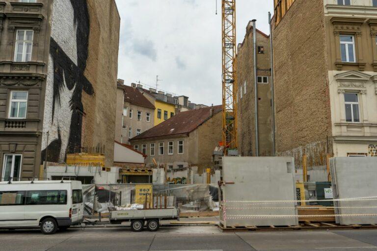 Baustelle am Mariahilfer Gürtel 33, 1150 Wien