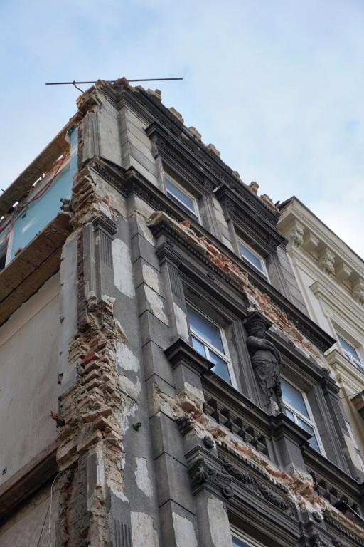 Gründerzeithaus am Mariahilfer Gürtel wird demoliert, Rudolfsheim-Fünfhaus, Wien