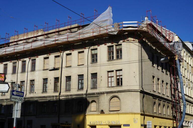 Radetzkystraße 24-26 mit abgetragenem Dach und Obergeschoß, 1030 Wien