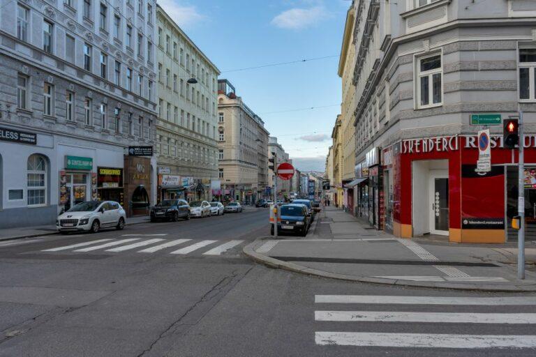 Reinprechtsdorfer Straße im 5. Bezirk in Wien