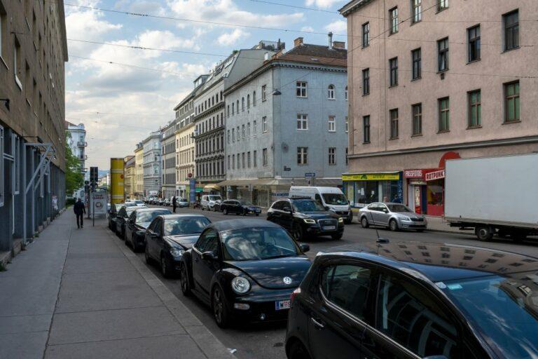 Reinprechtsdorfer Straße zwischen Scalagasse und Wiedner Hauptstraße