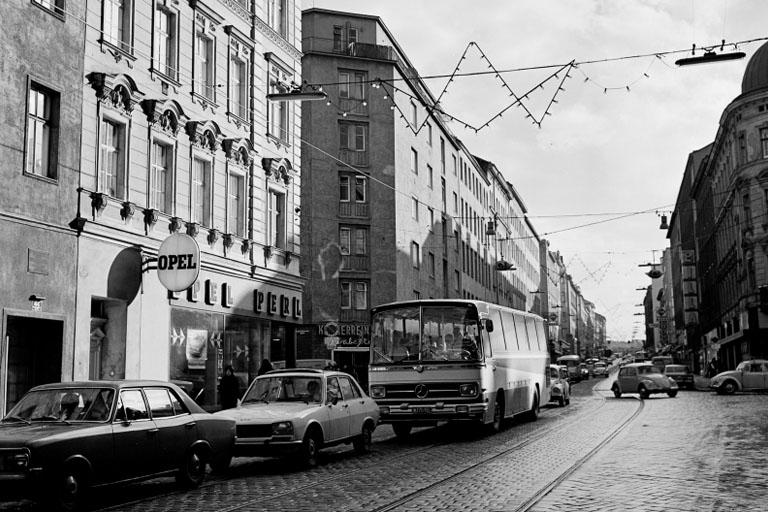 altes Foto der Reinprechtsdorfer Straße, 5. Bezirk, Wien