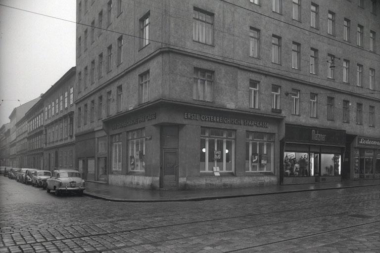Reinprechtsdorfer Straße in den 1960ern, Wien, 1050