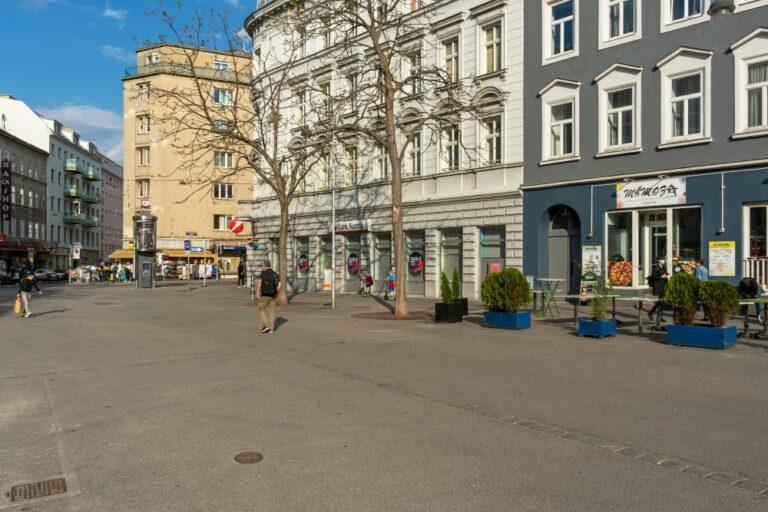 Siebenbrunnenplatz in Wien-Margareten