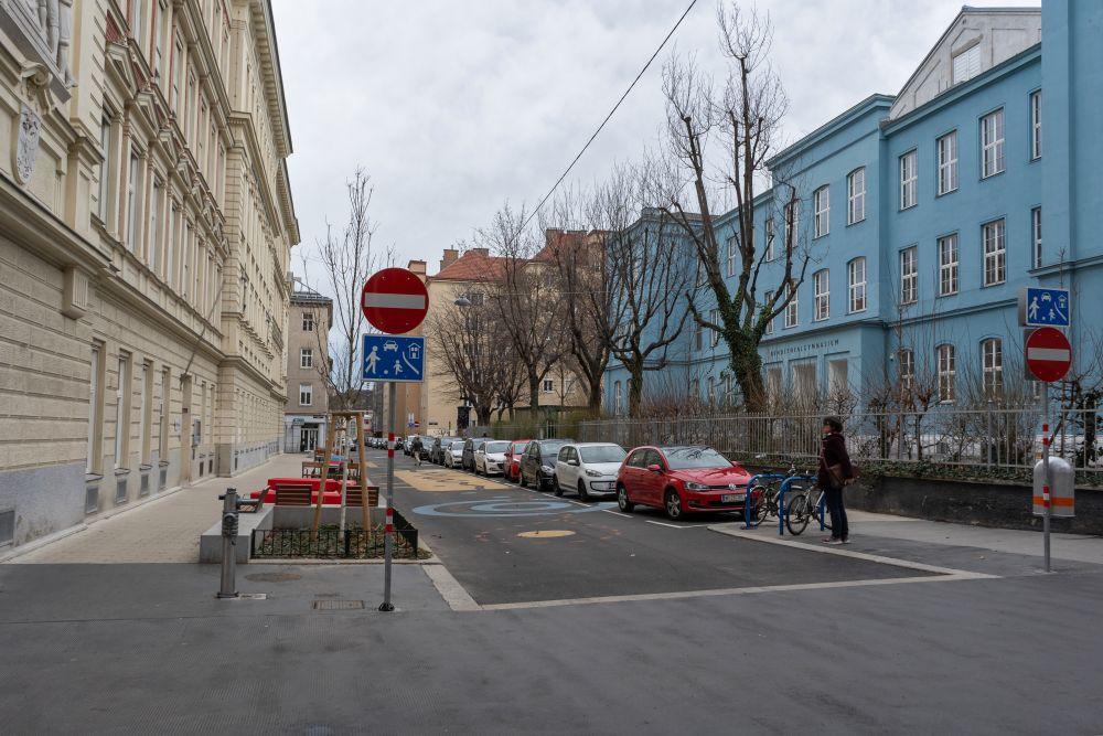 Wohnstraße in der Waltergasse , 1040 Wien