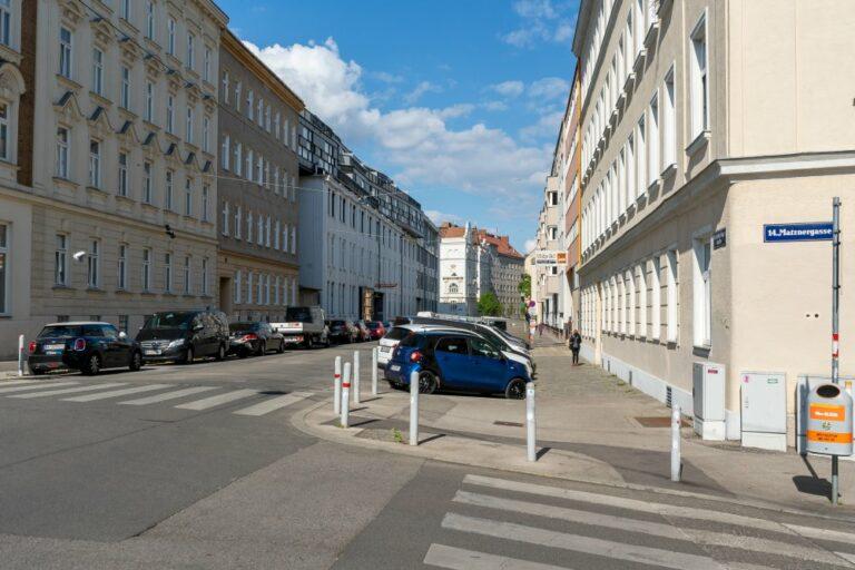 Goldschlagstraße Ecke Matznergasse, vor dem Umbau