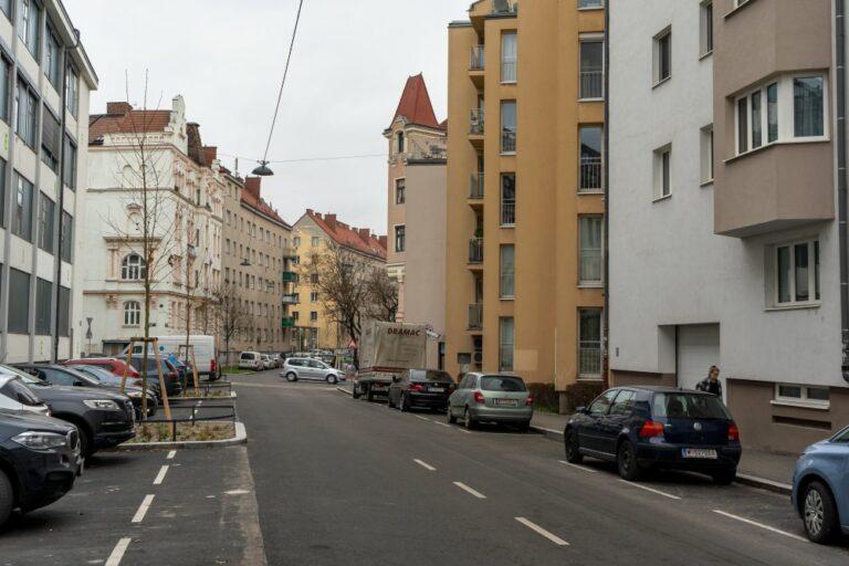 Goldschlagstraße in Wien-Penzing, umgestaltet 2020