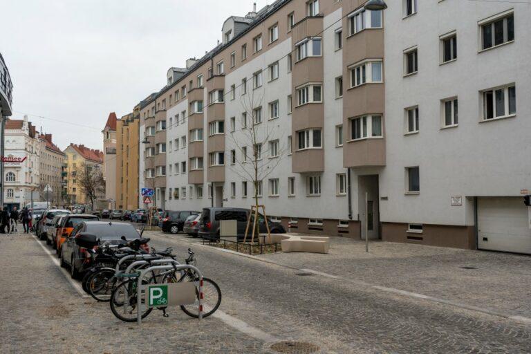 Goldschlagstraße in Penzing, nach der Umgestaltung
