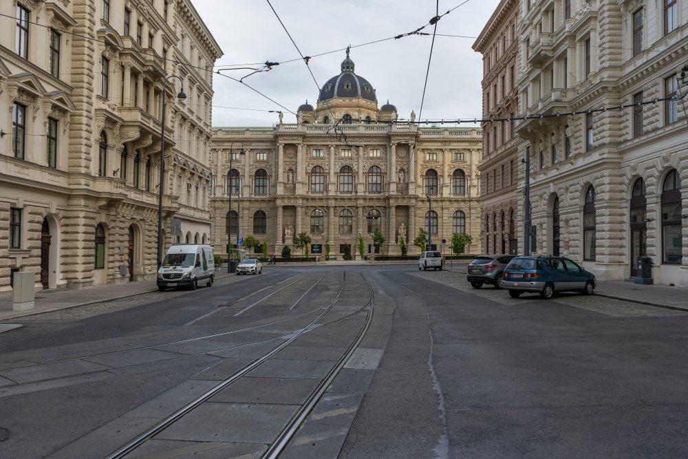 Naturhistorisches Museum, Hansenstraße, Wien