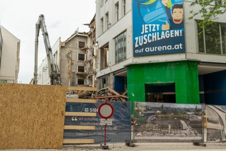 Leiner, Mariahilfer Straße, Abriss