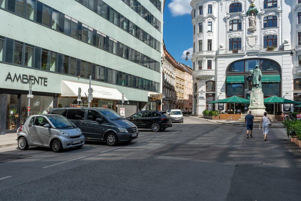 Lugeck, Rotenturmstraße, Wien