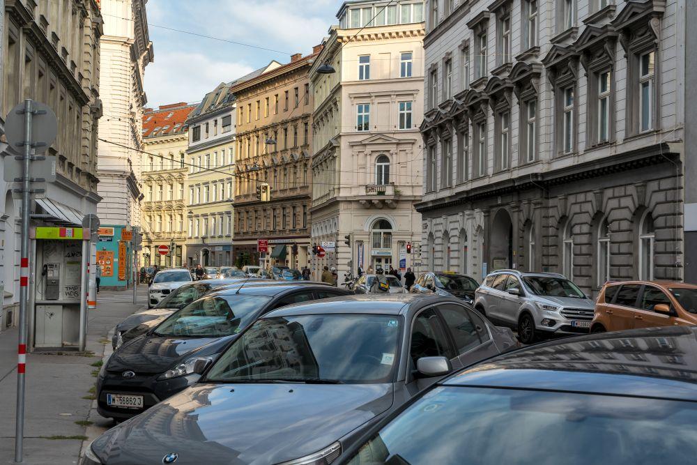 Margaretenstraße bei der Ramperstorffergasse (5. Bezirk, Foto: 2020)