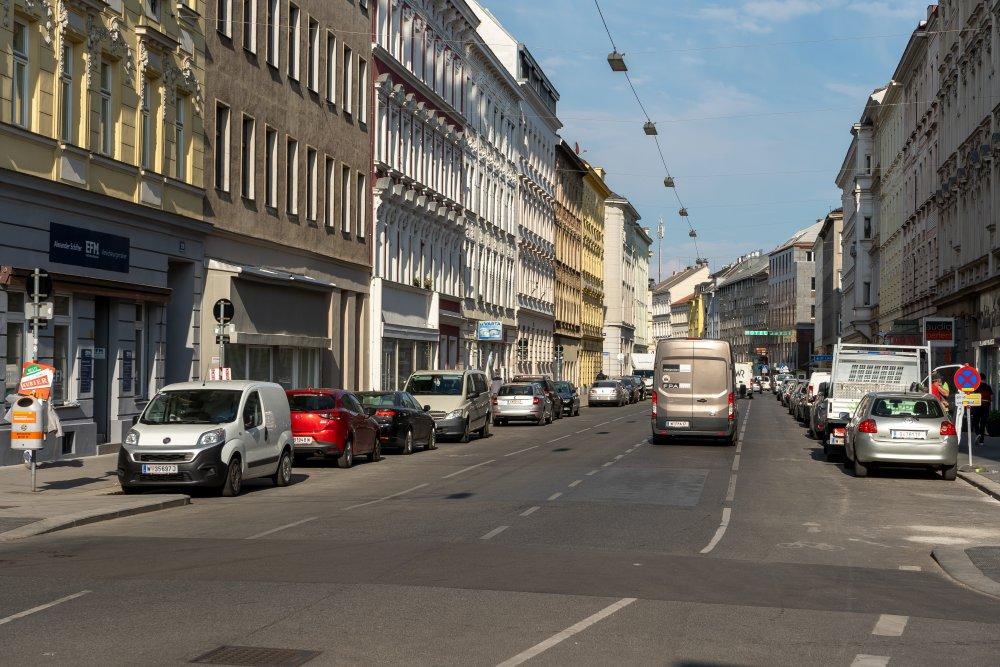 Sechshauser Straße im 15. Bezirk, Wien