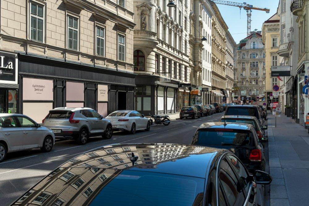 Tuchlauben in der Inneren Stadt, Wien