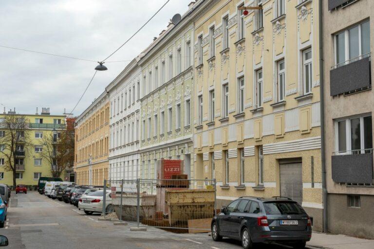Jugendstilhäuser in Floridsdorf, Wien
