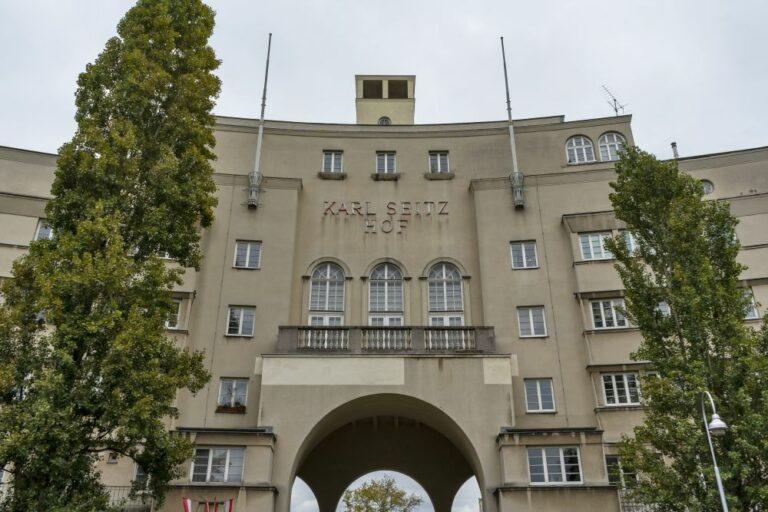 Gemeindebau in Wien-Floridsdorf, Zwischenkriegszeit, Hubert Gessner, Rotes Wien