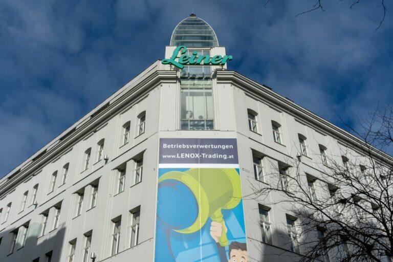 """""""Leiner""""-Haus in der Mariahilfer Straße in Wien-Neubau"""