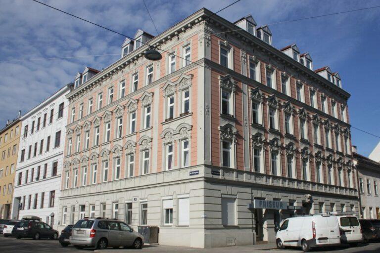 Jahrhundertwendehaus in Wien, Ottakring, Mildeplatz, Römergasse, Gründerzeithaus