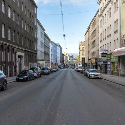 Ein Spaziergang durch die Reinprechtsdorfer Straße